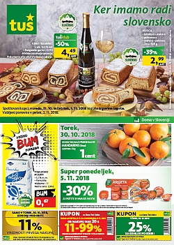 Tuš katalog trgovine in franšize do 05. 11.