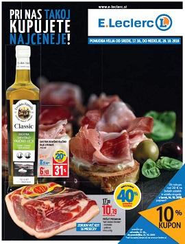 E Leclerc katalog Ljubljana do 28.10.