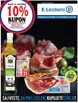 E Leclerc katalog Maribor do 28.10.