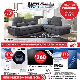 Harvey Norman katalog Rdeča ponudba