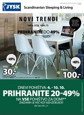 JYSK katalog Novi trendi