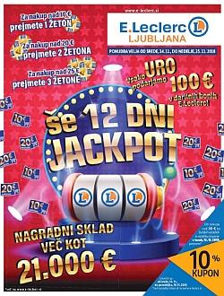 E Leclerc katalog Ljubljana do 25. 11.