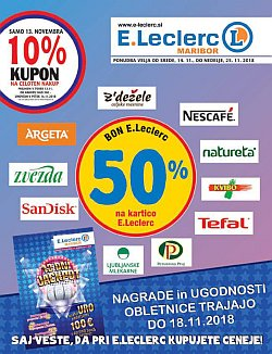 E Leclerc katalog Maribor do 25. 11.