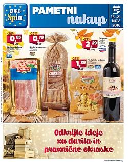Eurospin katalog do 21. 11.