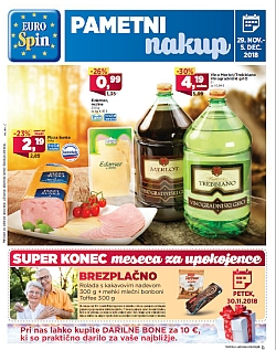 Eurospin katalog do 05. 12.