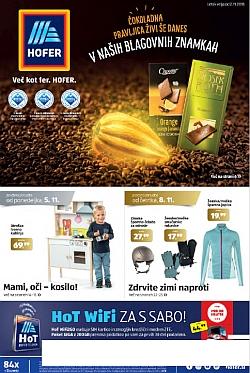 Hofer katalog od 02. 11.