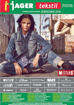 Jager katalog tekstil jesen/zima 2018