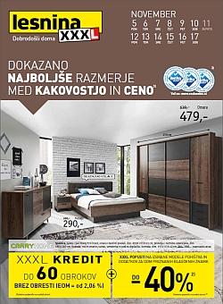 Lesnina katalog Najboljše razmerje – pohištvo