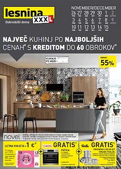 Lesnina katalog Kuhinje do 15. 12.