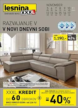 Lesnina katalog Dnevne sobe do 17. 11.