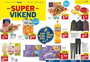 Lidl super vikend do 11. 11.