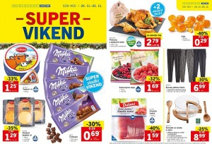 Lidl super vikend do 25. 11.