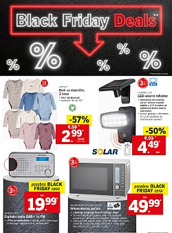 Lidl katalog Black Friday Deals 23. 11.