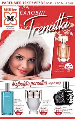 Muller katalog parfumerija Čarobni trenutki