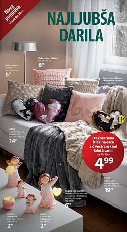 NKD katalog Najljubša darila od 22. 11.