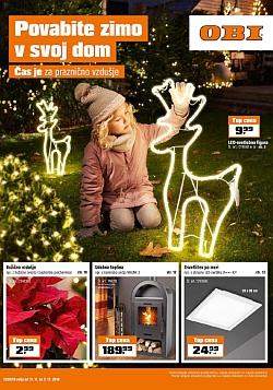 OBI katalog Povabite zimo v svoj dom
