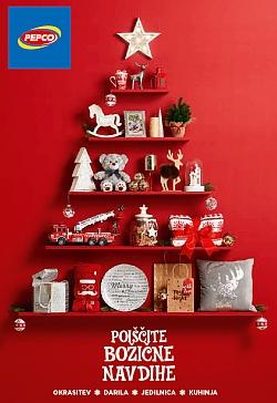 Pepco katalog Poiščite božične navdihe