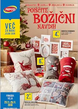 Pepco katalog Poiščite božični navdih