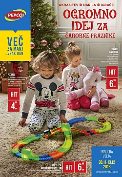 Pepco katalog Ogromno idej za praznike