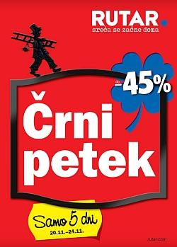 Rutar katalog Črni petek do 24. 11.