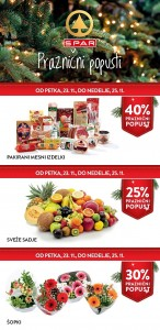 Spar in Interspar vikend akcija do 25. 11.