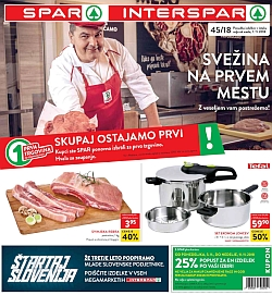 Spar in Interspar katalog do 13. 11.