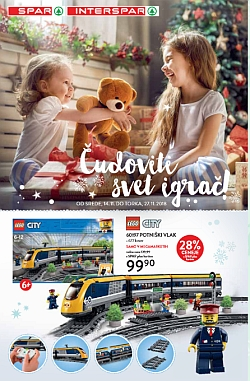 Spar in Interspar katalog Igrače do 27. 11.