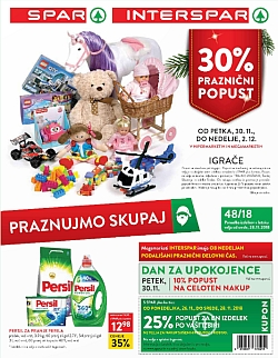 Spar in Interspar katalog do 04. 12.