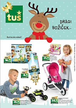 Tuš katalog Igrače do 31. 12.