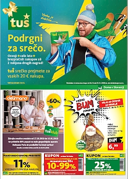 Tuš katalog trgovine in franšize do 19. 11.