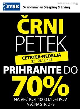 JYSK katalog Črni petek 2018