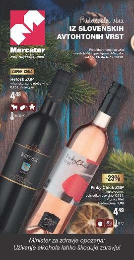 Mercator katalog Slovenska vina
