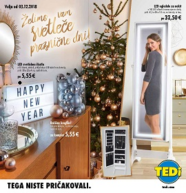Tedi katalog december 2018