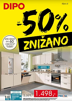 Dipo katalog Znižano do – 50 %