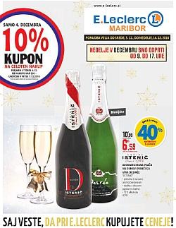 E Leclerc katalog Maribor do 16. 12.