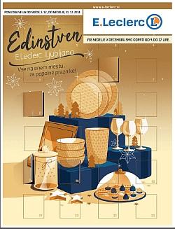 E Leclerc katalog Ljubljana Edinstven do 31. 12.