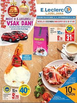 E Leclerc katalog Ljubljana do 24. 12.