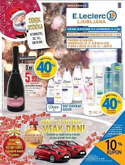 E Leclerc katalog Ljubljana do 31. 12.