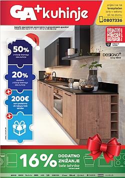 GA katalog kuhinje december