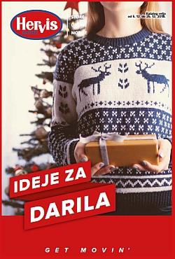 Hervis katalog Ideje za darila do 25. 12.
