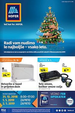 Hofer katalog od 27. 12.