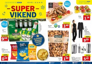 Lidl super vikend do 09. 12.
