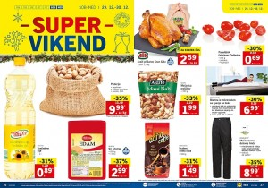 Lidl super vikend do 30. 12.