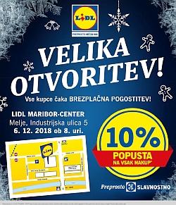 Lidl katalog Velika otvoritev Melje Maribor