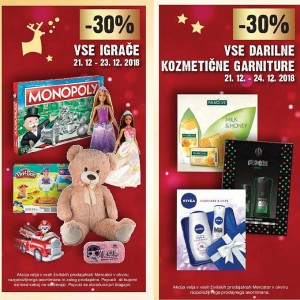 Mercator vikend akcija do 24. 12.