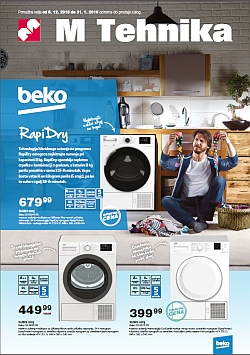 Mercator katalog tehnika Beko do 31. 01.