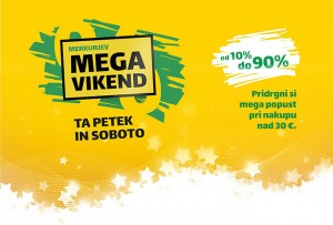 Merkur mega vikend do 22. 12.