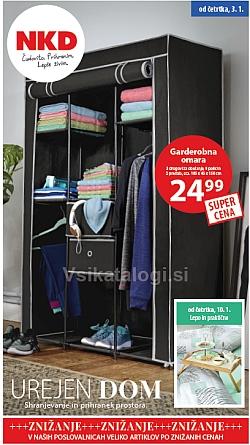 NKD katalog Urejen dom od 03. 01.