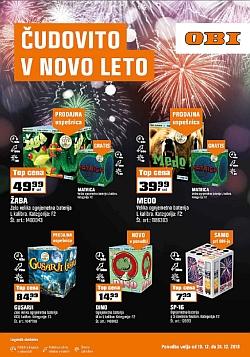 OBI katalog Čudovito v novo leto