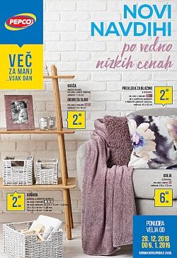 Pepco katalog Novi navdihi do 09. 01.